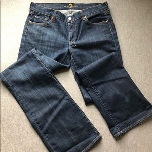 7 For All Mankind Boot Cut Jeans EUC size 31